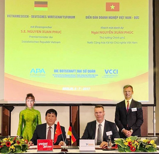 Vietjet and German Operating Aircraft Leasing